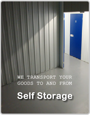Self Storage Removals Man and Van London